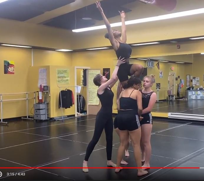 Edison High School Dance Ensemble Responds to the Artwork and Poetry of WOAC's Black Lives Matter Exhibit